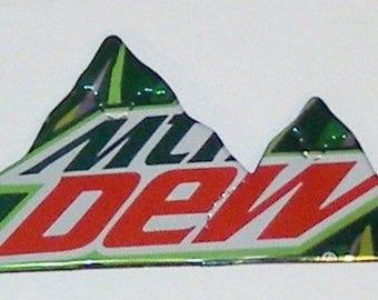 MOUNTAIN Magnet - MOUNTAIN DEW (Regular can) (Replica)
