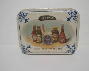 Small Heinz Tin