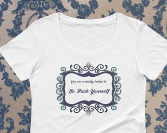 Cordial Invitation to Eff Yourself Shirt