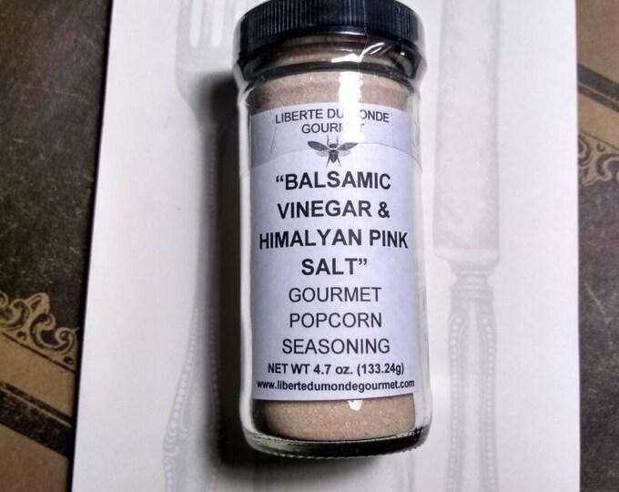 Balsamic Vinegar & Himalayan Pink Salt Gourmet Popcorn Seasoning