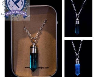 Supernatural Necklace with Pendant, Angel's Grace, LED Light up Pendant necklace