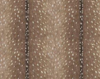 Woodland Patchwork Blanket- Tulip Fawn, Deer Skin Minky, Blush Fletching Arrow, Mint Minky, and Blush Minky Patchwork Baby Blanket