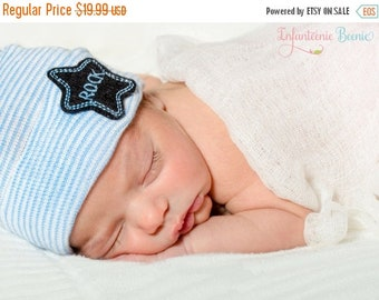 SALE 25% OFF Baby boy hat, #newborn boy hat, Baby boy hospital hat, boy hospital hat, boy newborn hat, boy baby hat,