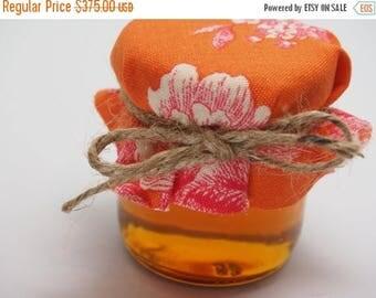 SALE 15% Off Ends Sunday 150 Honey Mason Jar Wedding Favors, Small Glass Honey Jars For Wedding Favors, Honey Mason Jars Wedding, Mini Mason