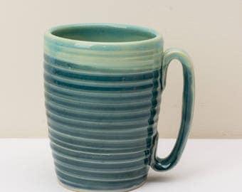 Large Spiral Coffee Mug