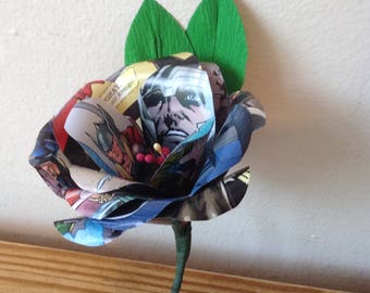 Thor comic book boutonniere buttonhole.
