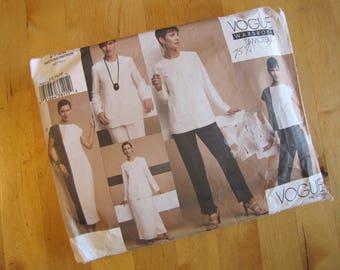 Vogue Sewing Pattern 2725 - Vogue Wardrobe -  Tamotsu - Misses Jacket, Top, Dress, Skirt and Pants - Size 12-16