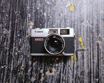 Canon Canonet QL17 GIII 35mm Rangefinder Camera With 40mm f/1,7