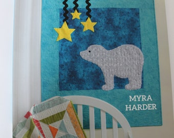 Nap and Nod by Myra Harder, quilt pattern book, baby quilt patterns, baby quilt book, quilting book