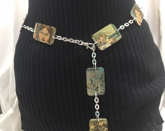 One Of A Kind Upcycled Vintage Star Wars Comic Book Chain Belt