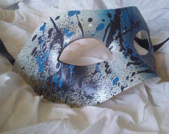 One of a kind Graffiti Masquerade Mask
