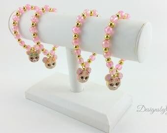 Fairy Kei Bracelets-Cat Bracelet-Lolita-Harajuku-Hime-Bracelet,Gift For Her-Birthday Gift-Bead bracelet-Kawaii-Lolita Accessories-Fairy Kei