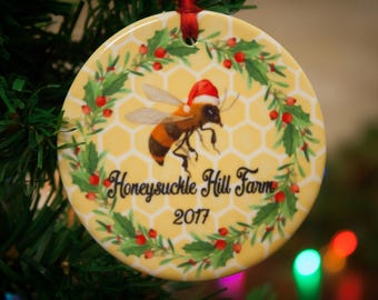 Honey Bee Ornament Keeper Gift Bees