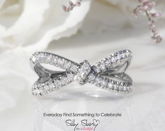 10% OFF Hera Diamond Ring, Infinity Knot Ring, 0.4 CT Diamond Ring, Love Knot Ring, Gold Rings for Women, Infinity Ring, Unique Ring