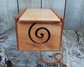 Mahogany Yarn Box