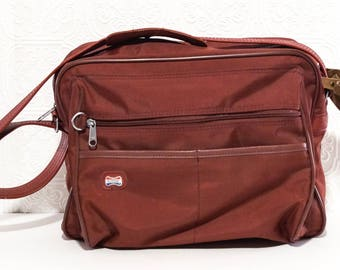Vintage American Tourister Overnight Carry On Travel Bag 1970s