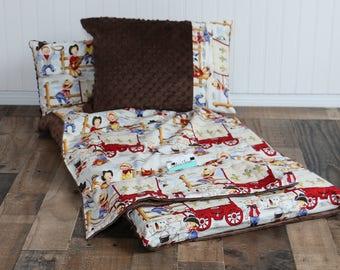 Boys Nap Mat - Nap Mat - Personalized Nap Mat - Nap Mat Cover - Toddler Nap Mat - Daycare Nap Mat - Kindermat Cover - Cowboy Toddler Blanket