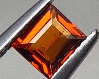 0.77 Ct Natural Garnet Spessartine Mandarin Orange