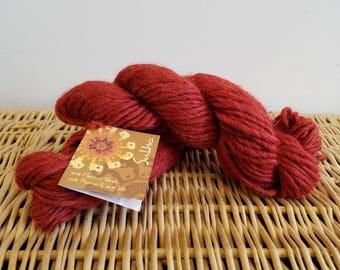 "Alpaca Blend, Wool Blend, Chunky Yarn Mirasol Sulka 208 ""Paprika"" Merino Alpaca Silk"