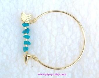 Gift women, Prom dress Jewelry, Popular bracelets jewelry items, turquoise stone bracelet  jewelry, arrow bracelet, PiYOYO