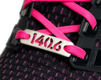 140.6 Ironman, 70.3 - 1/2 Ironman, TRI Inspired Triathlon from ATHLETE INSPIRED Shoe Tag