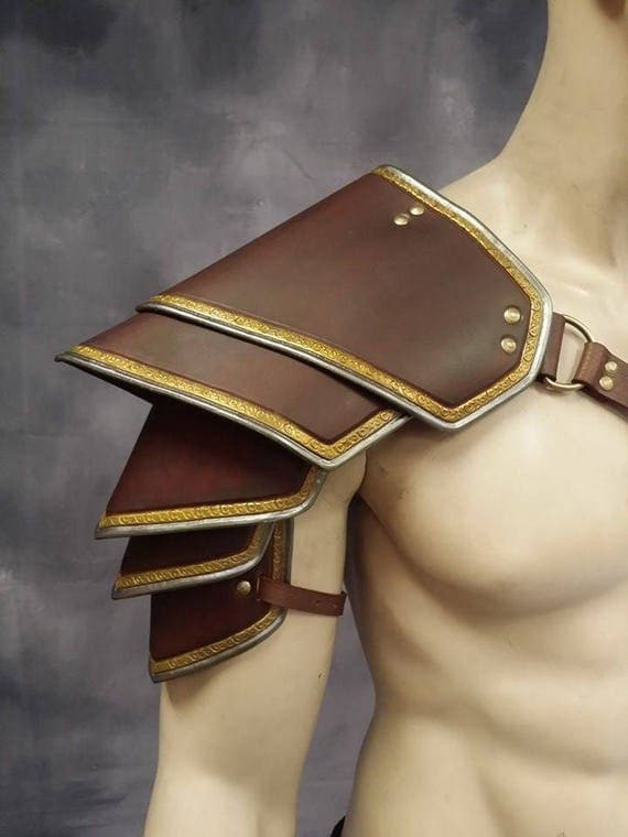 Leather Armor Sentinel 2 segmented shoulder IN STOCK