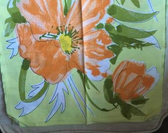 Vintage Vera Neumann Floral Napkins Set of 4