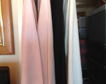 Lot of 1980's Women's Knit Cardigan and 3 Ribbed Mock Turtleneck Sweaters by Designers Originals and Sag Harbor Size Small