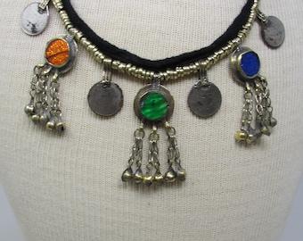 Vintage Kuchi Pendant Necklace