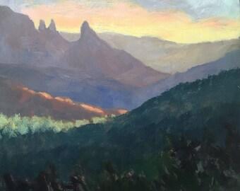 Sedona Early Morning - Arizona - Original Oil Landscape Painting