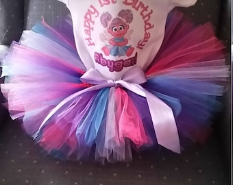 Abby Cadabby shirt and tutu skirt Birthday Outfit