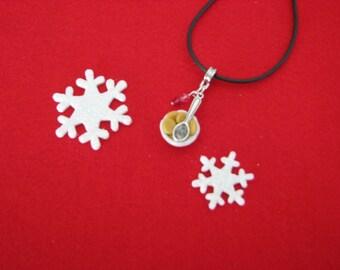 Necklace small ramekin ref 177 Christmas cookies