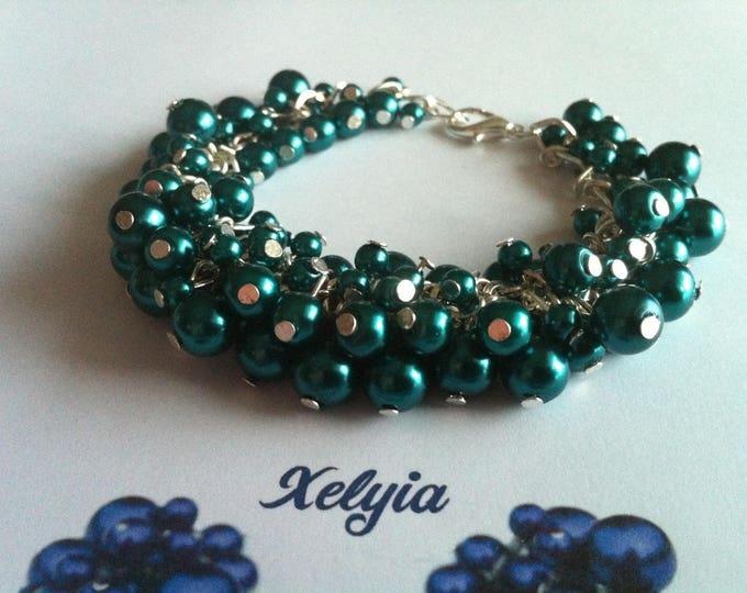 Green duck charms Beads Bracelet