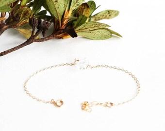 Herkimer bracelet