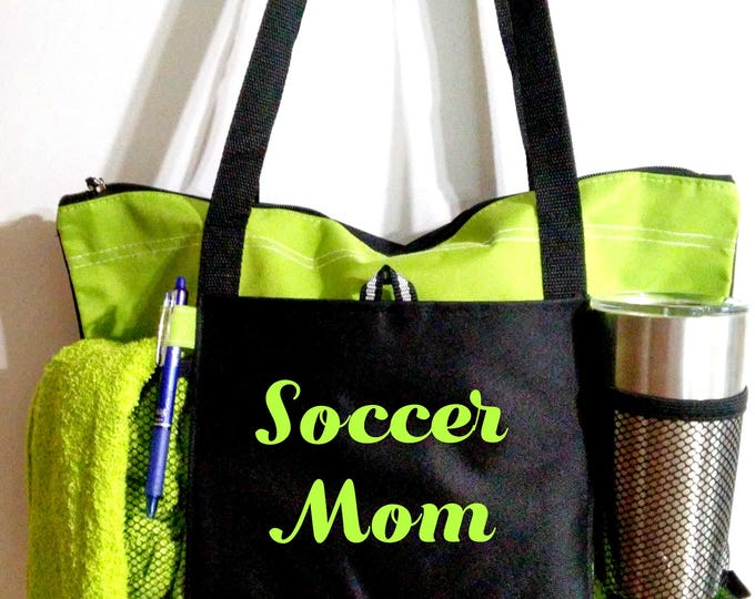 NEW NEW NEW! Mom sports bags/ soccer/football/basketball/lacrosse/softball/baseball/golf/ team mom/gift/Christmas Gift