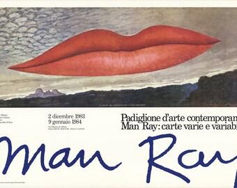 Man Ray-A L'Heure de L'Observatoire-Les Amoureux-1983 Poster