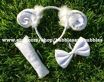 Comfortable Ram Horns - Lamb Headband Halloween Costume - Sheep Costume - NEXT DAY SHIPPING