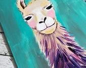 CLASS: Happy Llama