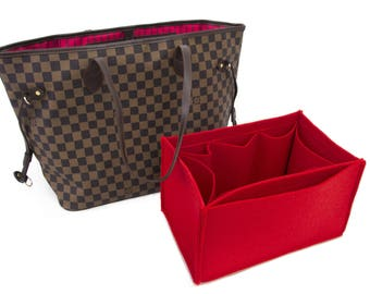 "For ""Louis Vuitton Bags"" Purse insert bag organizer,felt bag insert organizer  with Ipad placer / Color Option  available ,EXPRESS SHIPPING"