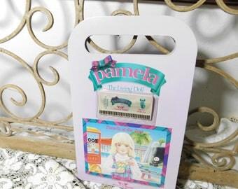 Pamela The Living Doll Set World Of Wonder, 1980,  World Of Wonder Doll Book Set, Vintage Interactive Doll Set,  :)