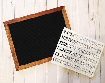 Felt Board/Custom Board/Home Decor/Gift for Women/Letterboard/DIY Board/Wall Art/Kitchen Art/LivingRoom Decor/Christmas Gift/Gift for Mom