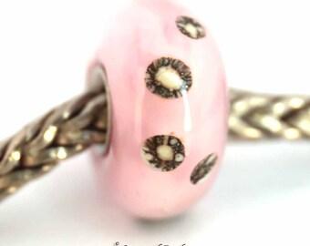 murano lampwork glass bead SRA artist handmade euro big hole - lampwork glass bead Made To Order - S887