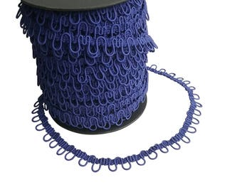 Morning Glory Elastic Bridal Button Loops