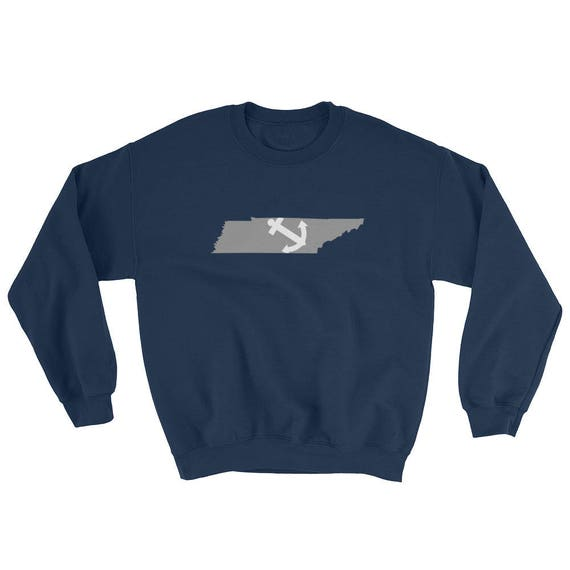Farragut Tennessee State Anchor Navy Sweatshirt