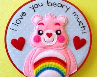 Care Bears Cheer Bear Embroidery