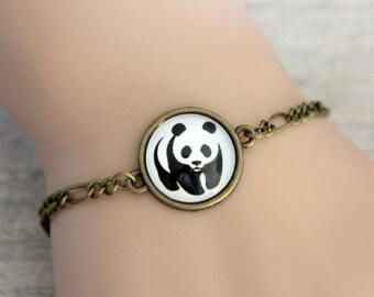 bracelet panda (1616B)