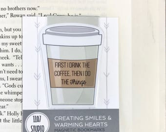 Gilmore Girls Inspired Coffee Bookmarks