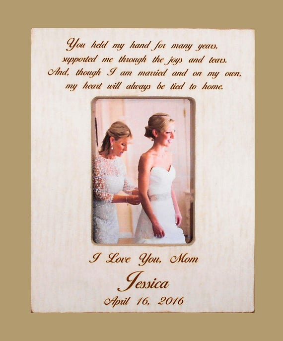 Mother Daughter Wedding Gift Mom Bride To