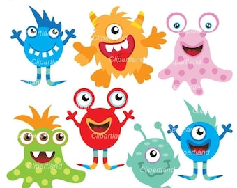 ON SALE INSTANT Download. Monsters 13. Personal and commercial use.