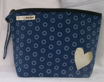toiletry bag, bath bag, bag, purse, shweshwe, South African